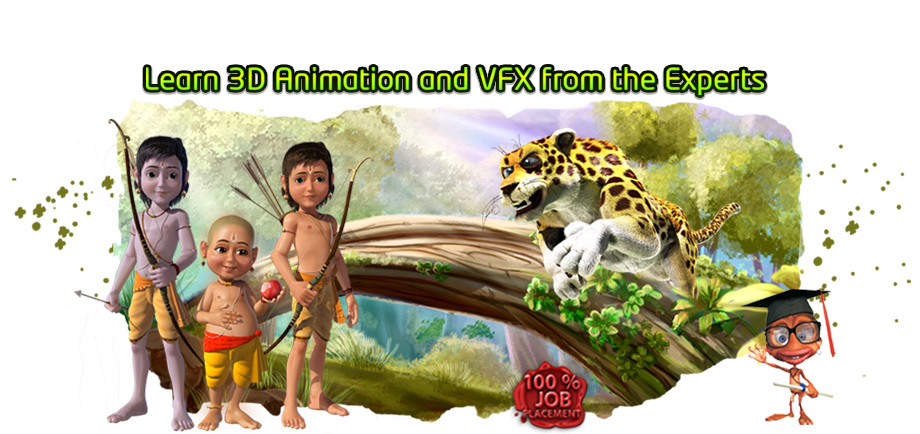 3D Animation & VFX training in chennai
